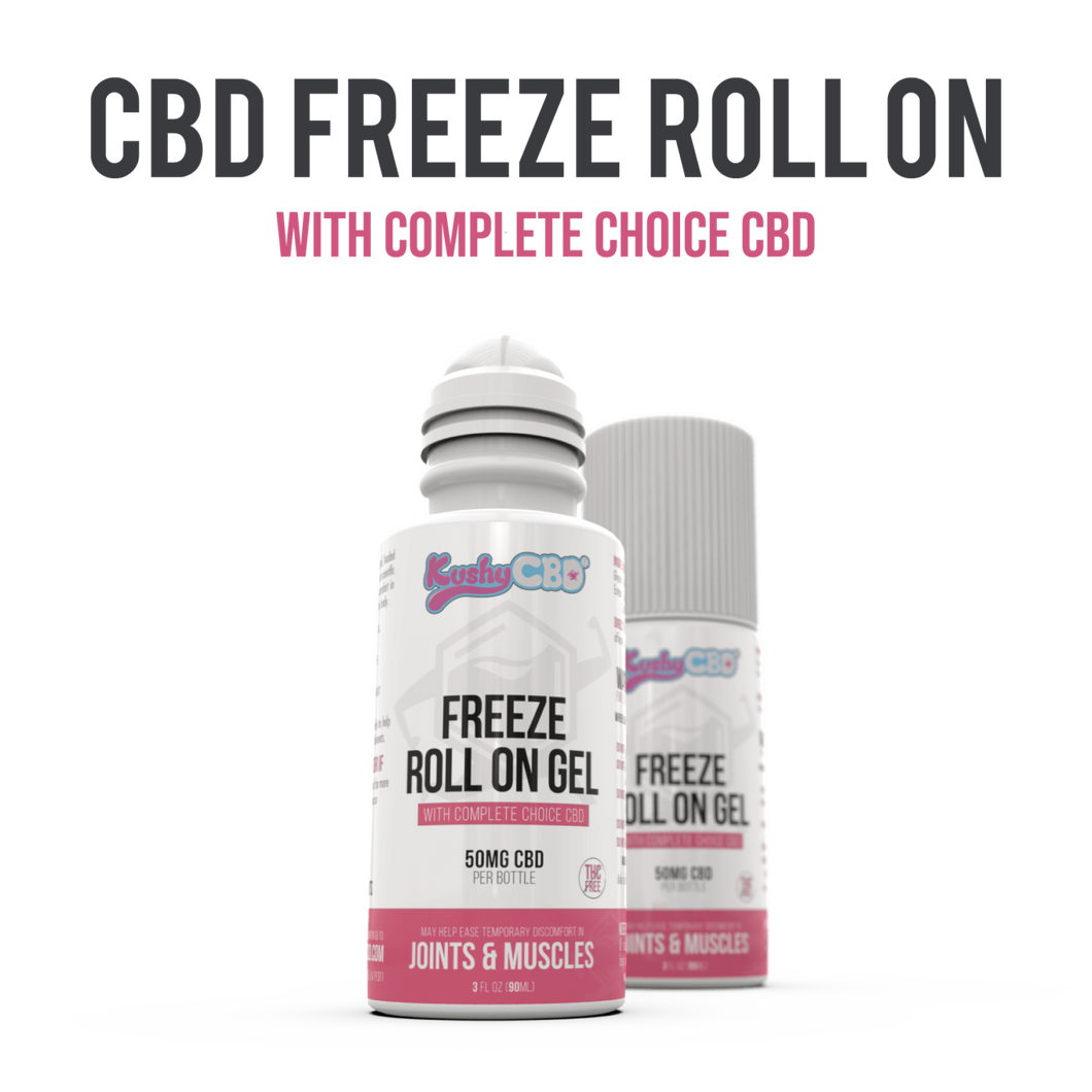 Kushy CBD - Topical Freeze Roll-On 50mg