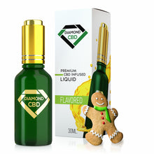 Load image into Gallery viewer, Diamond CBD - Oil Gingerbread Tincture 30ml.