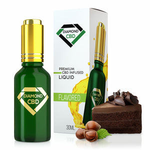 Diamond CBD - Oil Hazelnut Coffee Cake Tincture 30ml.