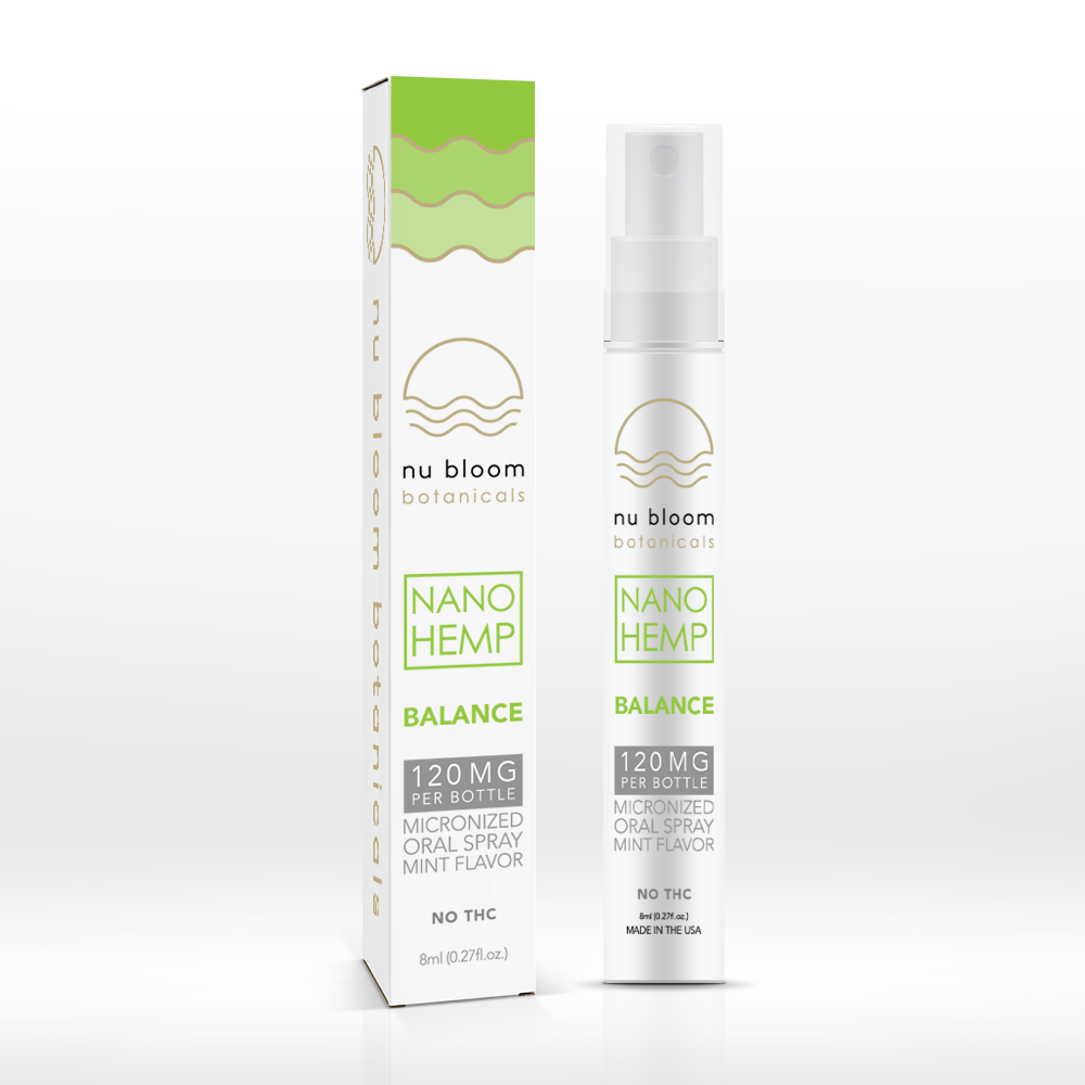 Nu Bloom Botanicals - Hemp Spray Balance 120mg