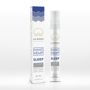 Nu Bloom Botanicals - Hemp Spray Sleep 120mg