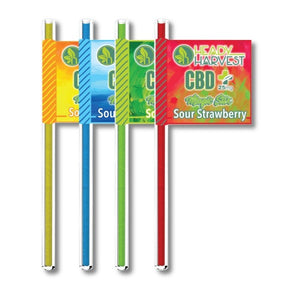 Heady Harvest - CBD Pixie Sour Stix - Pack of 4