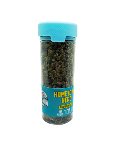 Hometown Hero - CBD Flower Hawaiian Haze Popcorn 1oz.