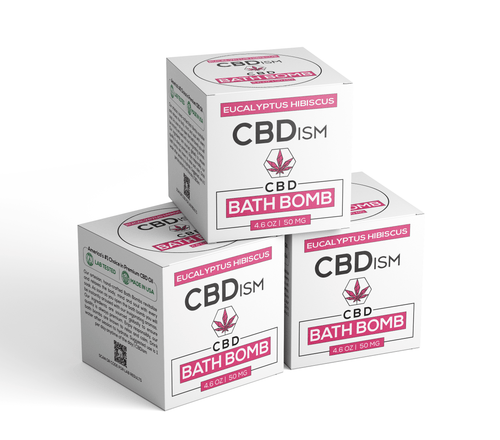 CBDism - CBD Bath Bomb For Sale