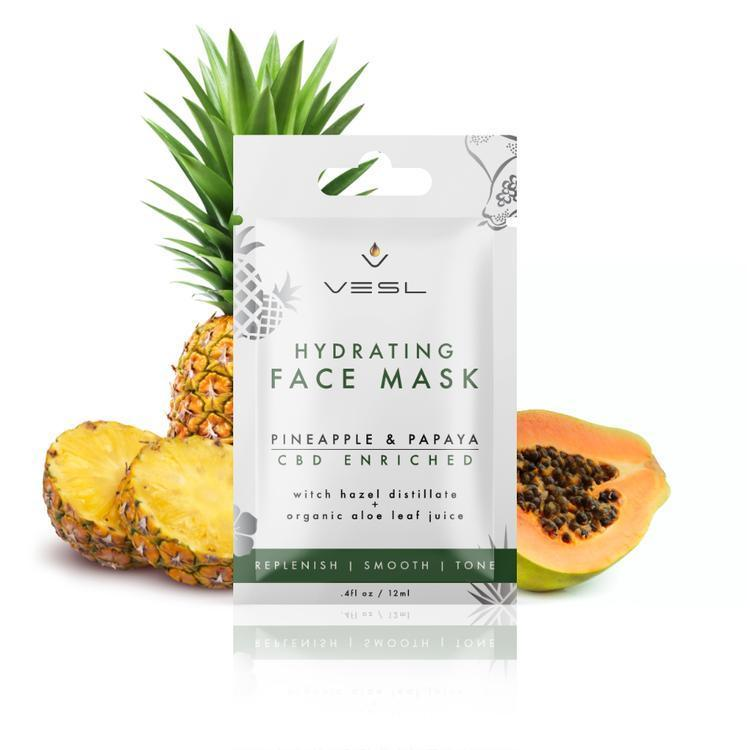 Vesl CBD - Skin Care Face Mask Pineapple & Papaya