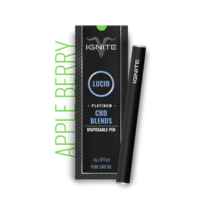 Ignite CBD - Pen Lucid Platinum Apple Berry 250mg
