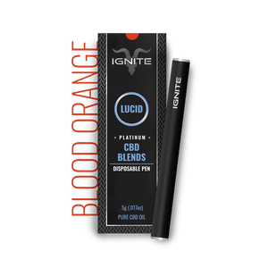 Ignite CBD - Pen Lucid Platinum Blood Orange 250mg