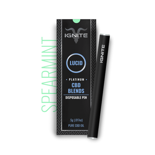 Ignite CBD - Pen Lucid Platinum Spearmint 250mg