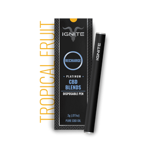 Ignite CBD - Pen Recharge Tropical Fruit 250mg