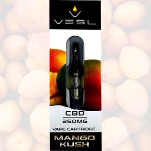 Vesl CBD - Cartridge Mango Kush 250mg
