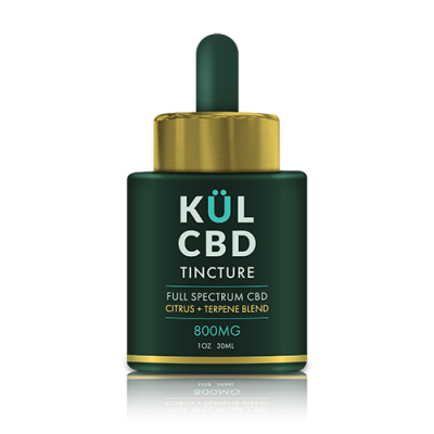 Kul CBD - Tincture Full Spectrum Citrus 800mg