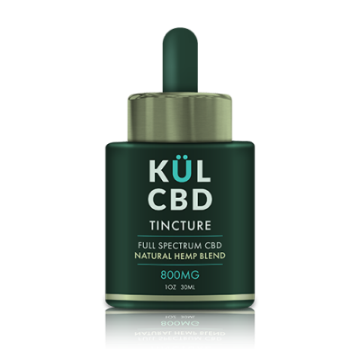 Kul CBD - Tincture Natural Hemp 800mg