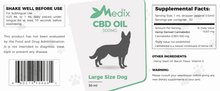 Load image into Gallery viewer, Medix CBD - Pet Oil for Large Dogs Bacon Flavor 500mg