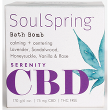 Load image into Gallery viewer, Soul Spring - CBD Bath Bomb Serenity 6oz.