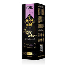 Load image into Gallery viewer, Liquid Gold - CBD Oil Honey Tincture 25mg (30ml)
