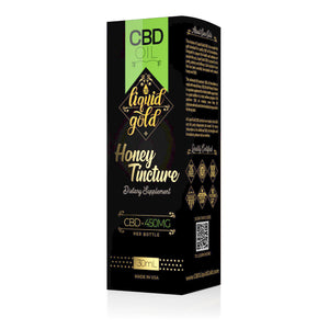 Liquid Gold - CBD Tincture Honey Oil 450mg (30ml)