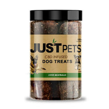 Load image into Gallery viewer, JUST CBD - Pets Dog Treats Liver Meatballs