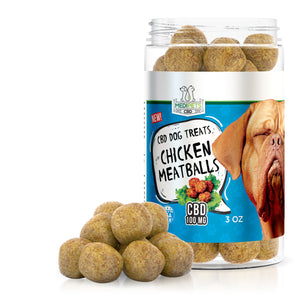 MediPets - CBD Pet Dog Treats Chicken Meatballs 100mg