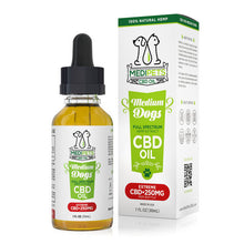 Load image into Gallery viewer, MediPets - CBD Pet Drop Oil Medium Dogs 250mg (30ml)