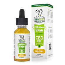 Load image into Gallery viewer, MediPets - CBD Pet Drop Oil Medium Dogs Regular Strength 50mg (30ml)