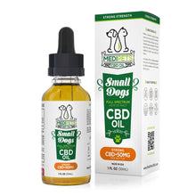 Load image into Gallery viewer, MediPets - CBD Pet Drop Oil Small Dogs Strong Strength 50mg (30ml)