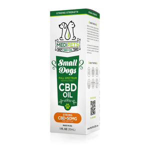 MediPets - CBD Pet Drop Oil Small Dogs Strong Strength 50mg (30ml)