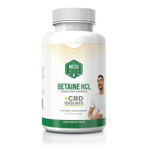 Meds Biotech - CBD Capsules Betaine HCL 500mg