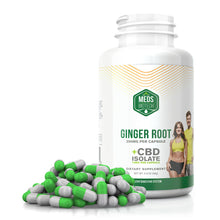 Load image into Gallery viewer, Meds Biotech - CBD Capsules Ginger Root 500mg