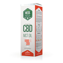 Load image into Gallery viewer, Meds Biotech - CBD Oil Full Spectrum MCT 1000mg (30ml)
