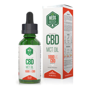 Meds Biotech - CBD Oil Full Spectrum MCT 1000mg (30ml)