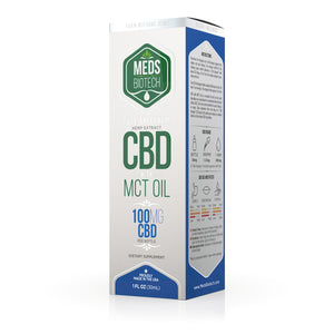 Meds Biotech - CBD Oil Full Spectrum MCT 100mg (30ml)