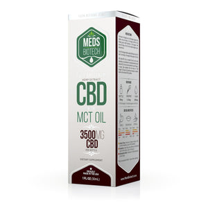 Meds Biotech - CBD Oil Full Spectrum MCT 3500mg (30ml)