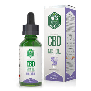Meds Biotech - CBD Oil Full Spectrum MCT 50mg (30ml)