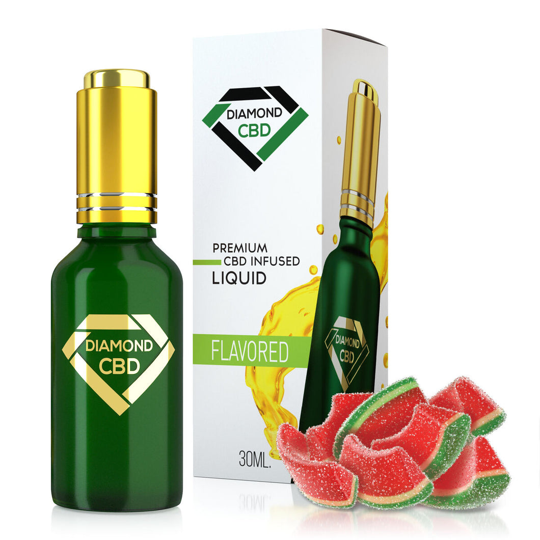 Diamond CBD - Oil Melon Berry Gummy Tincture 30ml.