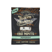 Load image into Gallery viewer, Tillmans Tranquils CBD - Edible Mints Peppermint Full Spectrum 1 Pack