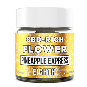 ERTH Hemp - Hemp Flower Terpene Enhanced Pineapple Express 3.5 Grams For Sale