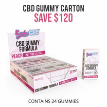 Load image into Gallery viewer, Kushy CBD - Gummy Peach 100mg