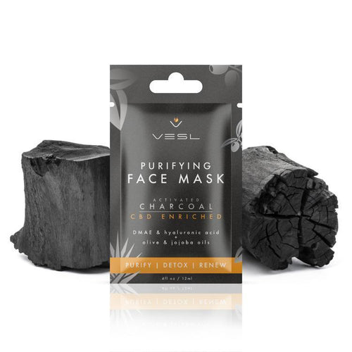 Vesl CBD - Skin Care Face Mask Activated Charcoal