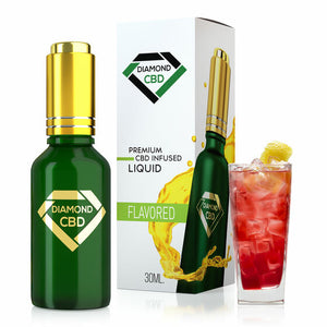 Diamond CBD - Oil Raspberry Lemonade Tincture 30ml.