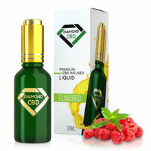 Load image into Gallery viewer, Diamond CBD - Oil Raspberry Mint Tincture 30ml.
