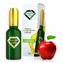 Load image into Gallery viewer, Diamond CBD - Oil Red Apple Flavor Tincture 30ml