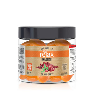 Relax - CBD Edible Dried Fruit Apricots 1000mg