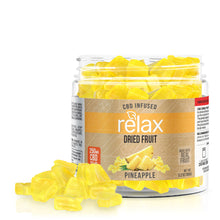Load image into Gallery viewer, Relax - CBD Edible Dried Pineapple Dice 250mg