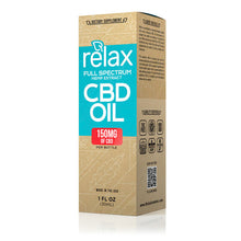 Load image into Gallery viewer, Relax - CBD Oil Full Spectrum Tincture 150mg