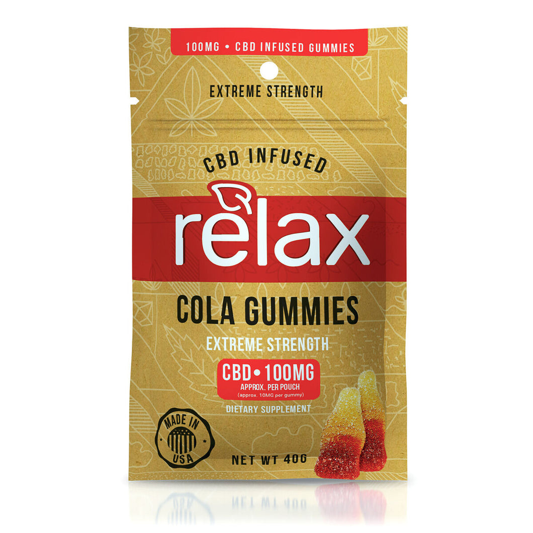 Relax - CBD Gummies Cola Flavor 100mg