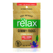Load image into Gallery viewer, Relax - CBD Infused Gummies Yummy Candy Extreme Strength 100mg
