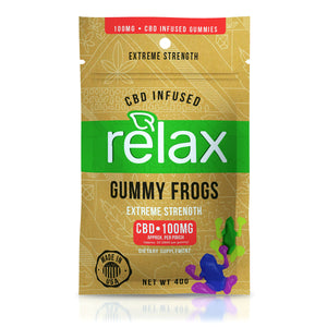 Relax - CBD Infused Gummies Yummy Candy Extreme Strength 100mg