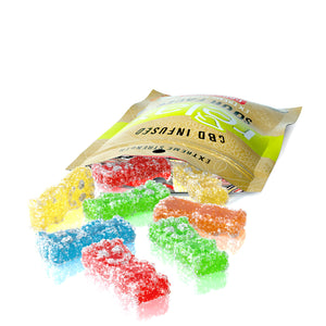 Relax - CBD Gummies Edible Infused Sour Faces 100mg