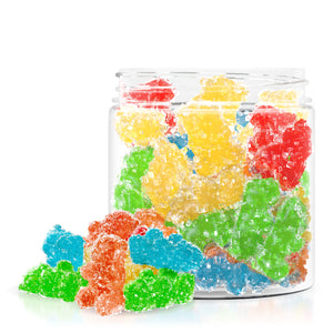 Relax - CBD Gummies Edible Infused Sour Gummy Bears 500mg