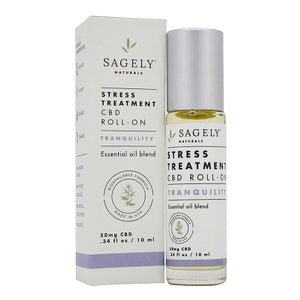 Sagely Naturals - CBD Roll-on Topical Tranquility 10ml